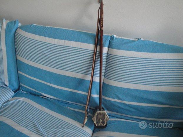 Violino cinese a 2 corde in legno Erhu