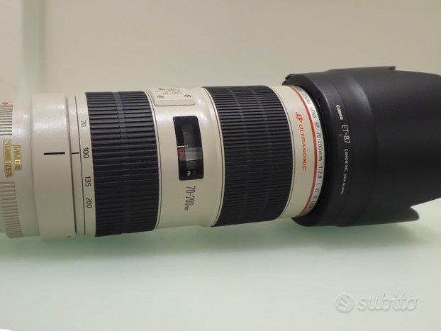 Canon 70-200 2,8 ii usato