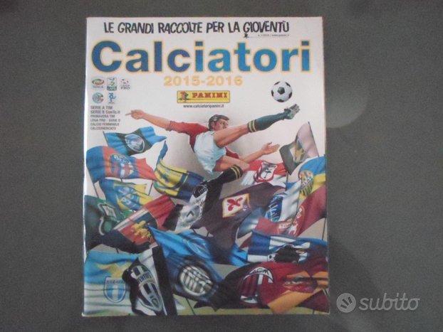 Album figurine calciatori 2015-16 campionato panin