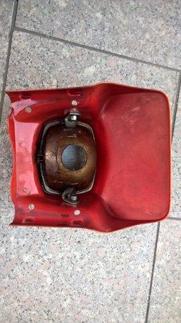 Mascherina con faro Fantic trial 240 cc