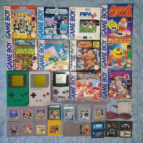 Lotto giochi game boy classic dmg 01 gb color gba