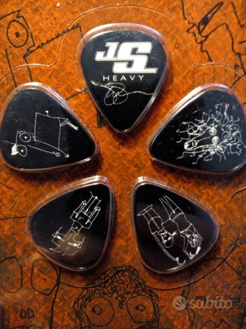 Joe Satriani PLETTRI BALCK 10 pack Heavy