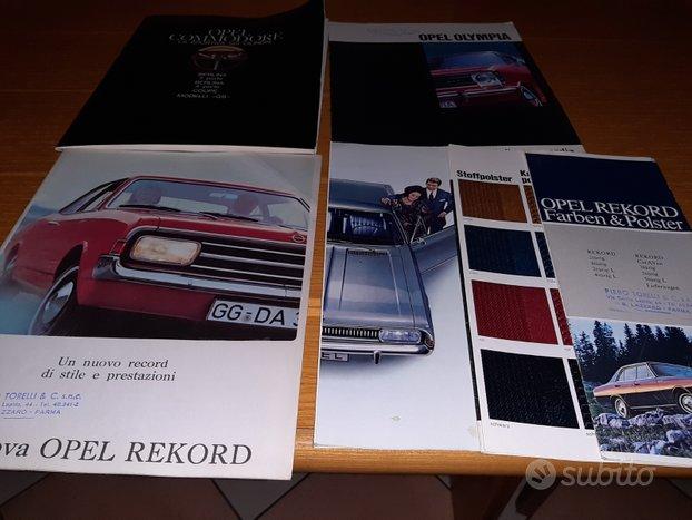 Depliant- brochure auto classiche