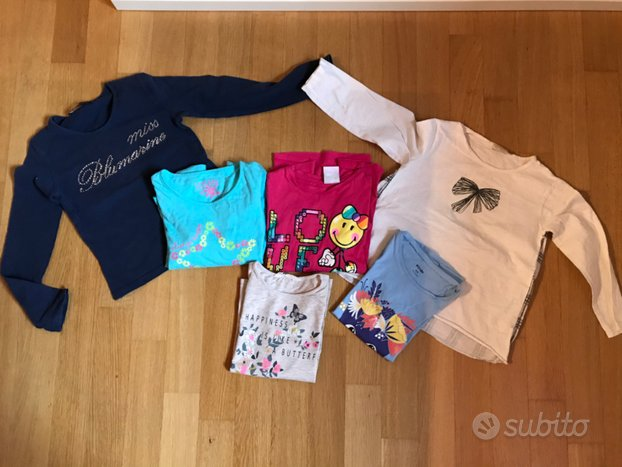 Abbigliamento bambina 5-6 anni