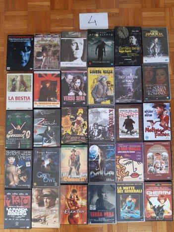 DVD Blu ray usati film serie TV cofanetti 4 di 9