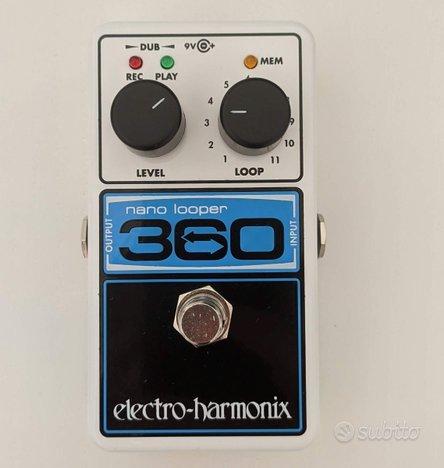 ELECTRO HARMONIX Nano Looper 360 in garanzia