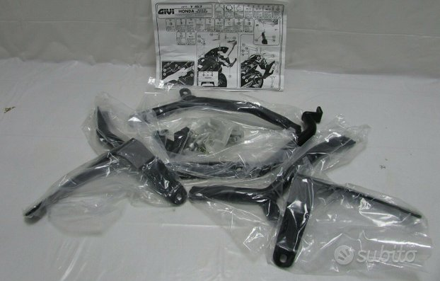 Supporto portavaligie Honda XL 650 V Transalp
