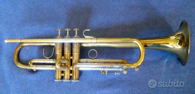 Tromba Bach Stradivarius in si b 72 L dorata