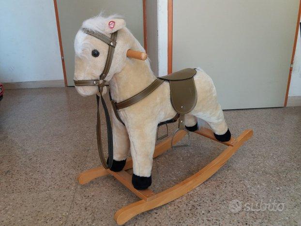Cavallo a dondolo con suoni (Perfetto)