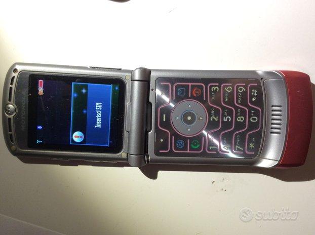 Cellulare Motorola razr V3
