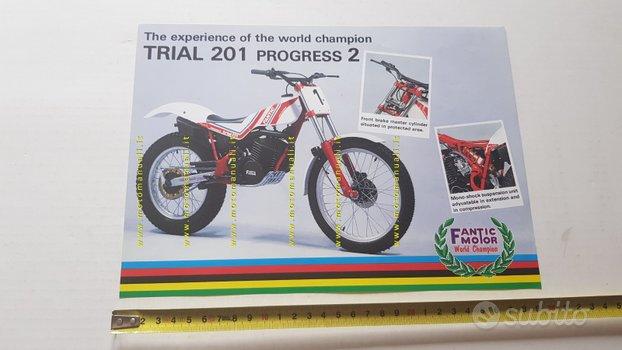 Fantic Motor Trial 201 Progress 2 1986 depliant
