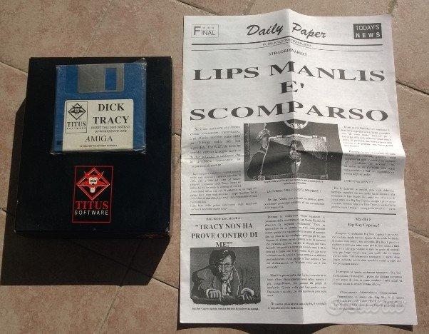 Gioco Dick Tracy per Commodore Amiga 500