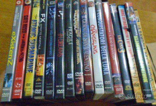 DVD originali horror thriller fantascienza