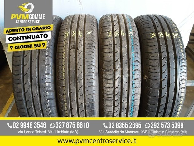 Gomme usate: 155 70 14 continental