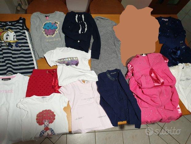 Abbigliamento bambina - varie maglie pantaloni t-s