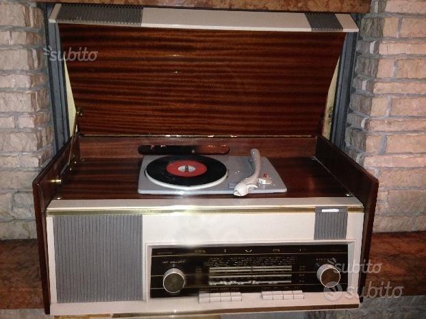 Radio e giradischi