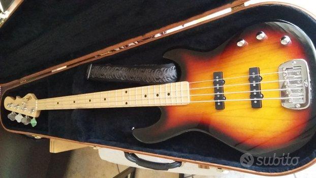 Basso G&L JB2 Tribute (Fender) + acc