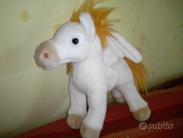 Pegaso cavallo alato peluche 25 cm