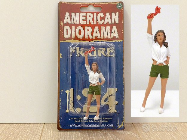 America Diorama figurini 1:24