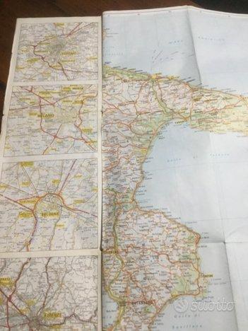 Cartina Italia Capoluoghi Di Regione.Cartina Stradale D Italia E Capoluoghi Di Regione Collezionismo In Vendita A Masserano Biella