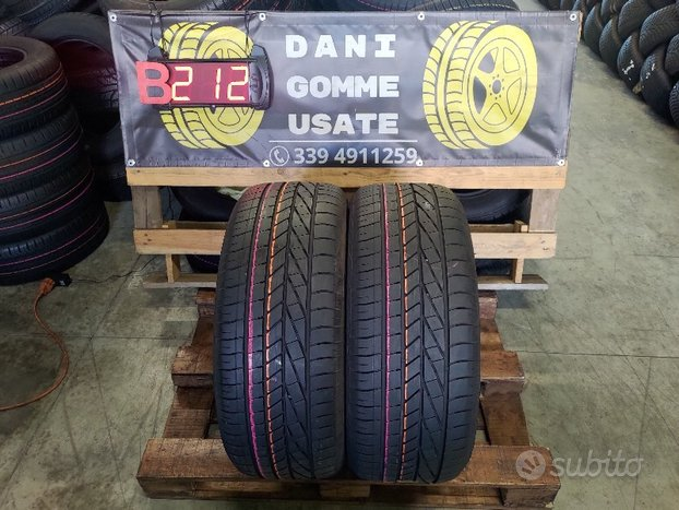 2 Gomme Usate 255 45 20 ESTIVE 85% GOOD YEAR
