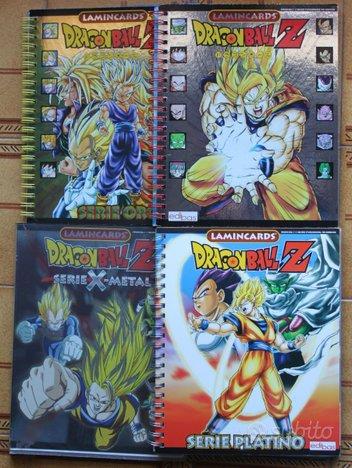 Album Dragon ball Z-argento-oro-platino-X metal-GT