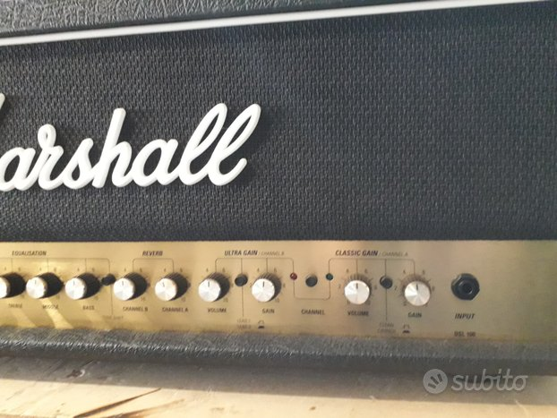 Marshall DSL100 made in England