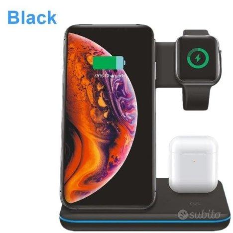 Caricatori Wireless 3 In 1 Per Smartphone, Smart W