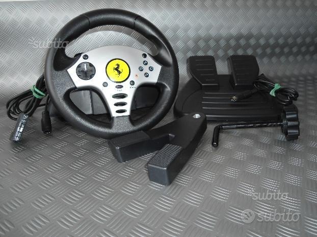 NUOVA.MAI USATA:TRUSTMASTER Challenge Racing Wheel