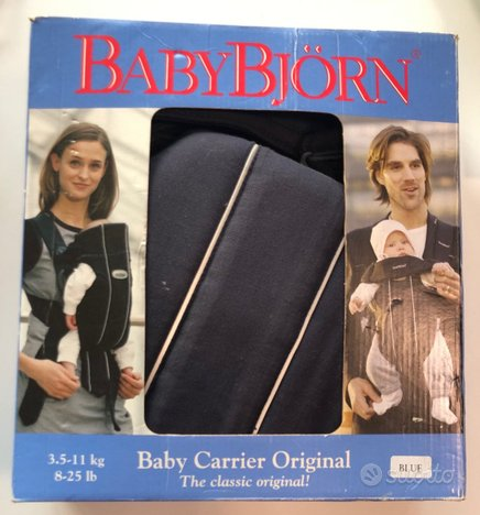Marsupio BabyBjorn Original Cotton