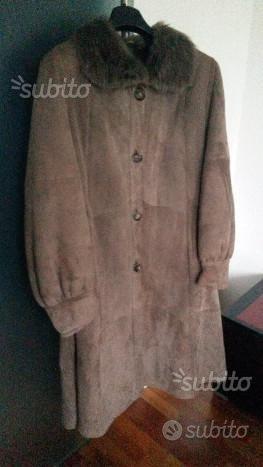 Cappotto donna montone Shearling taglia 44