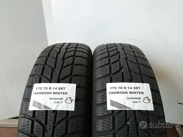 Gomme invernali 175 70 r 14 hankook usate