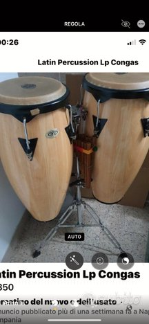 Congas percussioni