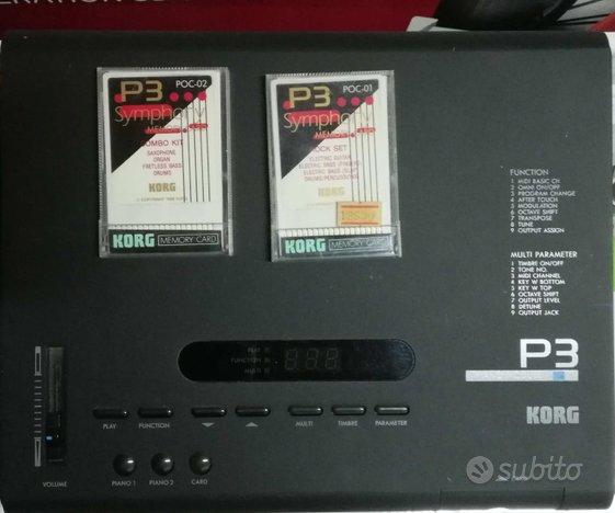 Modulo Piano Korg p3 + CARD suoni