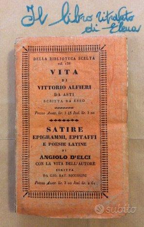 Vita di Vittorio Alfieri Da Asti scritta da esso -