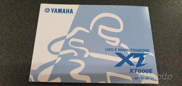 Uso e manutenzione manuale yamaha xt600e