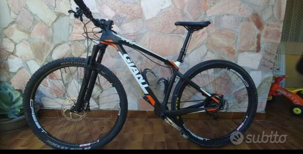 Mtb giant front full carbon taglia M