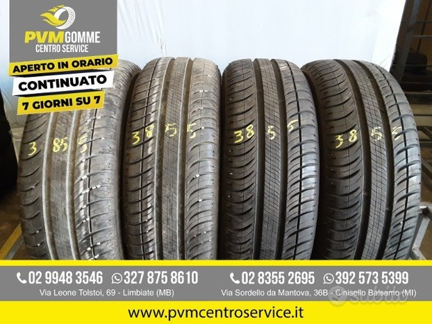 Gomme usate: 185 60 14 michelin