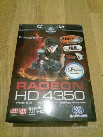 Sapphire RADEON HD 4350 256 Mb + 1Gb HyperMemory H