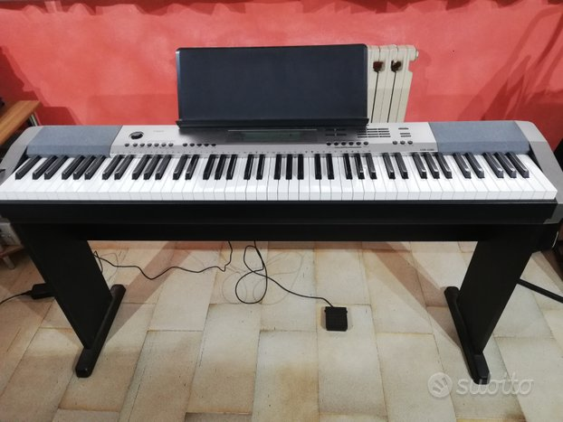 Pianoforte digitale Casio cdp-230r + supporto