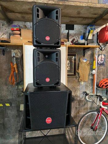 Impianto montarbo fiveo amplificato