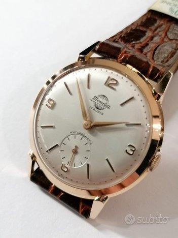Orologio Mondia 17 Rubis da collezione