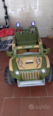 Auto Jeep elettrica 2 posti
