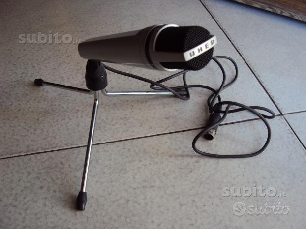 Microfono vintage microfono uher m 534 e m 517