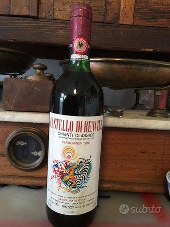 Vino rosso Chianti Classico 1980