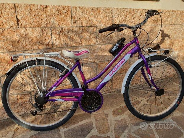 "Bicicletta CITY BIKE Donna/Ragazza 26"" 21v (NUOVA)"