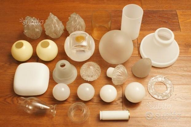 Ricambi lampade bocce vetro di Murano anni '60 '70,Stilnovo