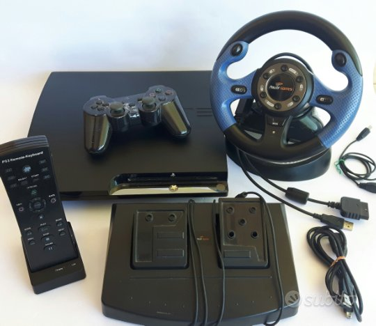 Playstation 3 volante con pedaliera controller