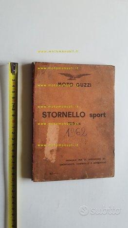 Moto Guzzi STORNELLO Sport 125 62 manuale officina