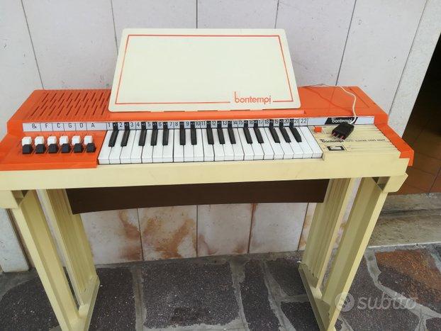 Pianola/organo Bontempi